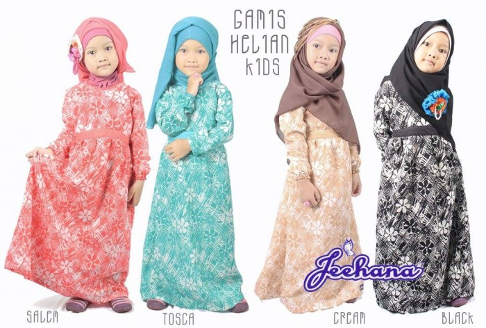 Official Store  Gamis Helian Kids